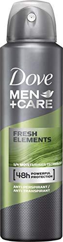 Dove Men+Care Deospray Fresh Elements Anti-Transpirant, 6er Pack (6 x 150 ml)