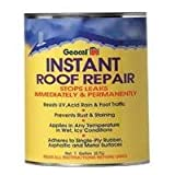 Geocel 25200 Instant Roof Repair Brushable Coating, 1 qt, Clear