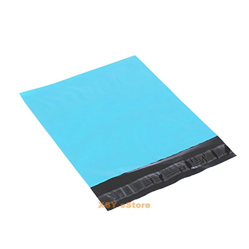 100 Blue Mailers Poly Envelopes Mailing Bags 4.3