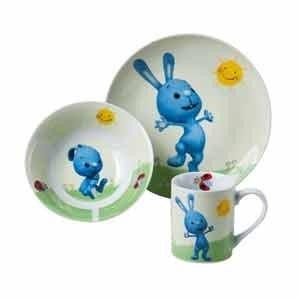 Kikaninchen 3tlg. Keramikset Frühstücksset