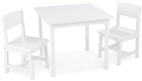 Kidkraft Aspen Table and Chair Set - White (Kidkraft Table And Chairs)