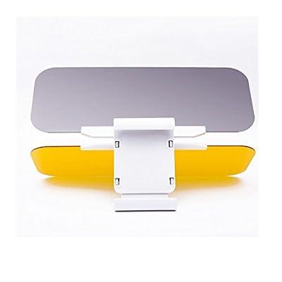 Iuhan® Fashion Car Sun Visor Anti-Glare Blocker UV Fold Flip Down HD Clear View Visor