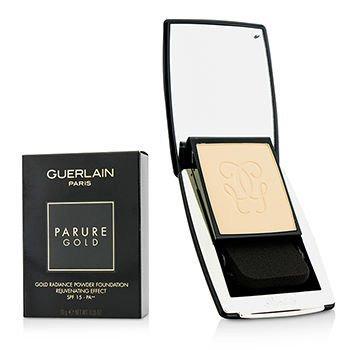 Guerlain Spf 15 Foundation (Guerlain Parure Gold Radiance Powder Foundation SPF15 01 Pale Beige 0.35oz)