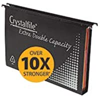 Crystalfile Suspension Files Extra Wide 30Mm Bx10