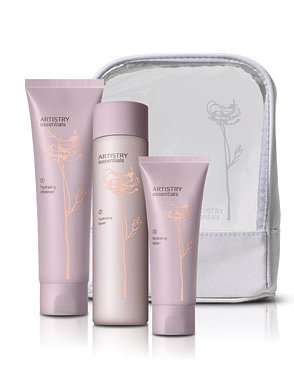 ARTISTRY Essentials Hydrating Skincare System for Cleansing and Hydrating skin, Cleanser, Toner and Lotion