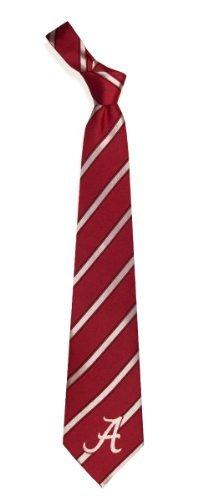 Alabama Crimson Tide Striped Mens Neck Tie
