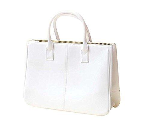 Primi mujeres moda PU Asa Ladies Bag handbag-white