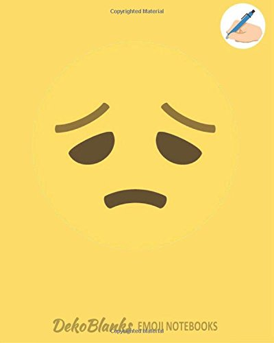 Emoji Notebooks: Emoticon Notebook, Blank Composition Book, Emoji Journal, Emoji Notebooks for Girls, Matte Cover,  Emoji School Supplies, Emoji ... (Deko Blanks Emoji Notebooks) (Volume 12)