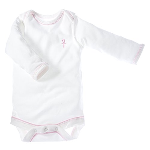 little-pharo-100-extra-long-staple-egyptian-cotton-long-sleeved-bodysuit-ivory-with-pink-piping-size