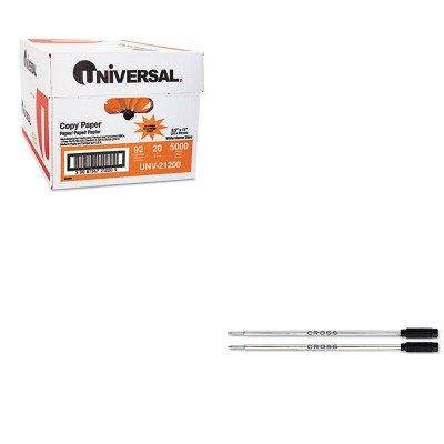 KITCRO85132UNV21200 - Value Kit - Cross Refills for Ballpoint Pens (CRO85132) and Universal Copy Paper (UNV21200)