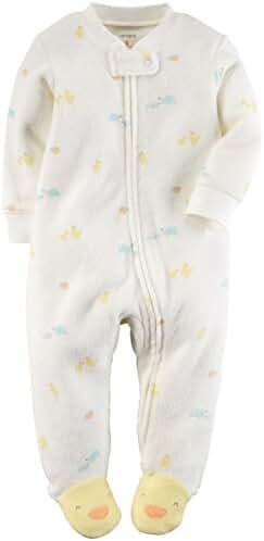 Carter's Baby Girls' Cotton Sleep and Play