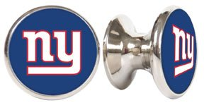 New York Giants NFL Stainless Steel Cabinet Knob / Drawer Pull