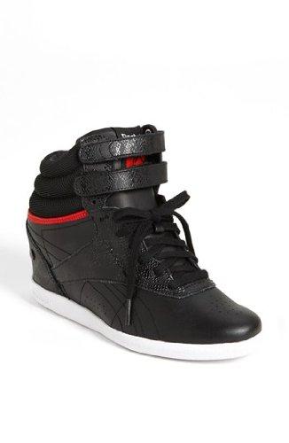 Reebok Ak Keys Hidden 2 quot  Secret Wedge Hi Top Fashion Sneakers Black  Womens (9 1e8eba2e2