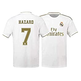 taotao377 Real Madrid, Uniforme de Football, Uniforme d'entraînement, Hazard, 7