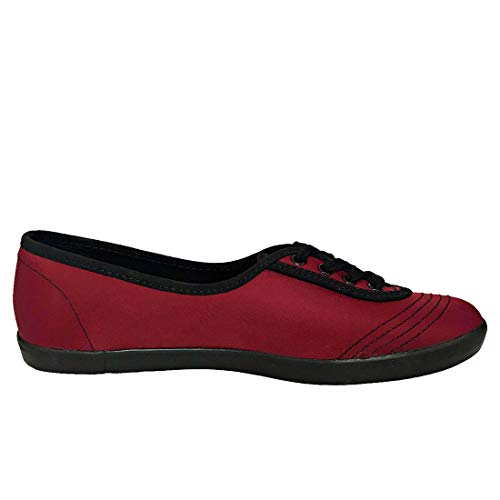 Baskets Mode Bordeaux Fred Maroon Aubrey red Femme Perry qgw7nAZf