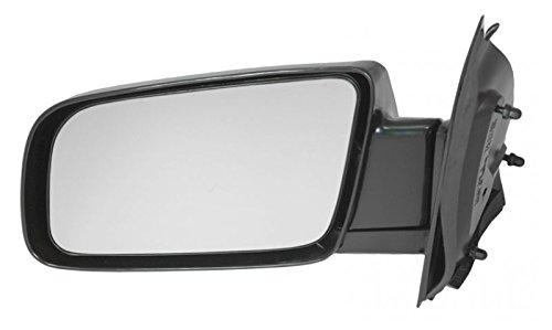 Astro Mirror Lh Driver - Manual Side View Mirror Black Driver Left LH for 88-05 Chevy Astro Safari
