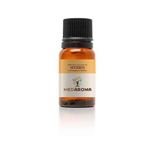 MEDAROMA 100% Pure Therapeutic-grade Myrrh Essential Oil 10ml (Commiphora...