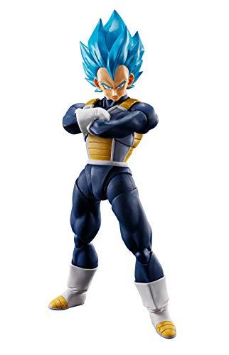 Tamashii Nations Bandai S.H. Figuarts Super Saiyan God Super Saiyan Vegeta Dragon Ball Super: Broly Action Figure (Ball Ozaru Dragon)