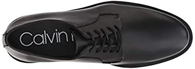 Calvin Klein Men's Carl Smooth Calf Leather Oxford