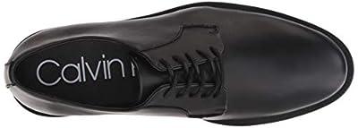 Calvin Klein Men's Carl Smooth Calf Leather Oxford