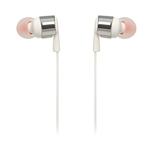 JBL TUNE 210 - In-Ear Headphone with One-Button Remote/Mic - Gray