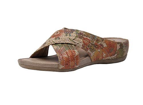 Cushionaire Collection Women's Carmela Comfort Sandal with +Comfort, -