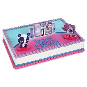 Pleasant Bakery Supplies Littlest Pet Shop Cake Topper Decorating Set 2 Funny Birthday Cards Online Elaedamsfinfo