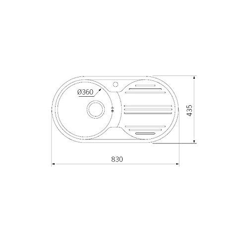 Conector Macho /Ø 2,2 mm 0,50m HDSupply TC010 Cable de Audio Toslink S//PDIF Negro Fibra /óptica