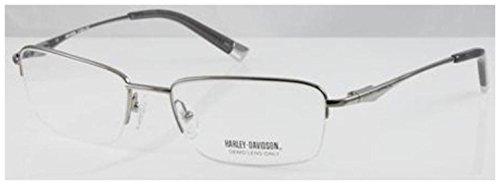 (HARLEY DAVIDSON Eyeglasses HD 373 Shiny Gunmetal 58MM)