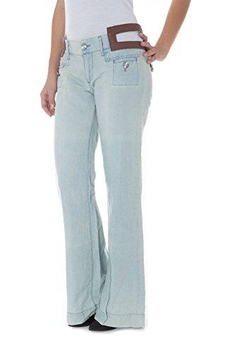 Denim Phard Basil Donna P170900147823w Jeans 1750 Azzurro FUqtUwx