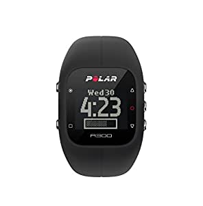 Polar A300 Fitness Tracker and Activity Monitor with Heart Rate (Black)