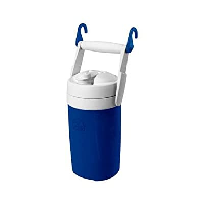 Igloo 41148 Sport Jug With Hanging Links, Blue & White, 1/2-Gal.