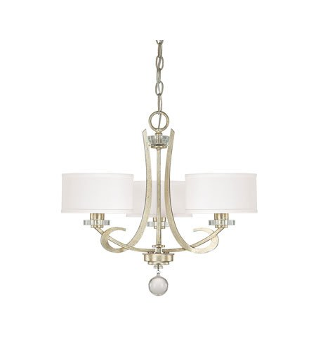 Capital Lighting 4263WG-552 Hutton 3-Light Chandelier, 20