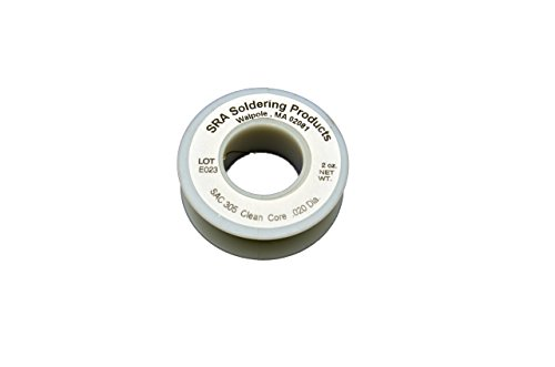 lead-free-no-clean-flux-core-silver-solder-sac305-020-inch-2-ounce-spool