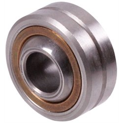 Spherical bearing DIN 648-K type S with outer ring relubricateable bore 35mm outer diameter 78mm == Initial lubrication required before use ==