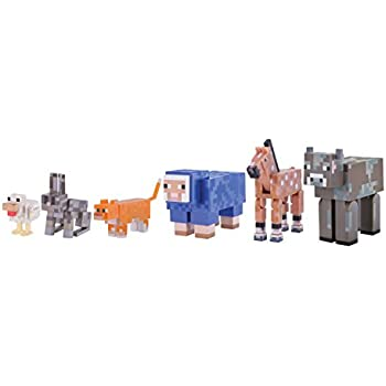 amazon com minecraft tame animal pack toys games