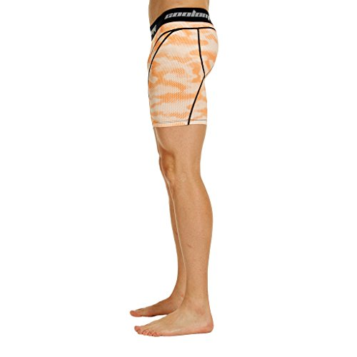 Coolomg–Biancheria intima a compressione per 15,2cm da allenamento fitness Pantaloni palestra