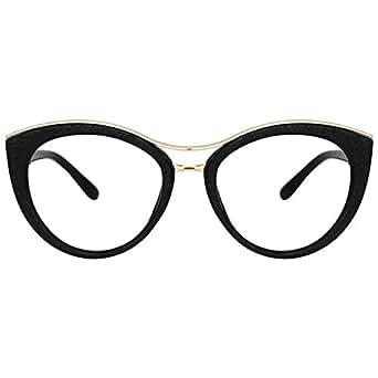 24809109fb95 Amazon.com  Zeelool Women s Super Stylish Cat Eye Glasses Non ...