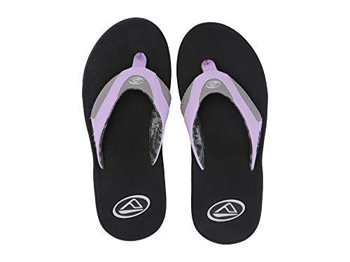 - Reef Women's Fanning W Grey/Purple 2 7 B US