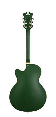 D'Angelico Deluxe 175 Electric Guitar - Matte Emerald