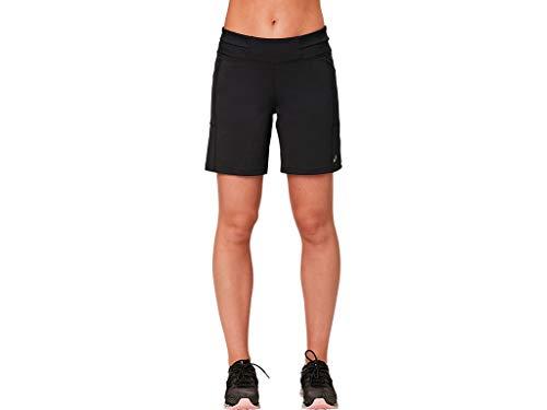 ASICS Women's 7 inch Knit Short, Performance Black, Medium (Best Long Distance Running Shorts)