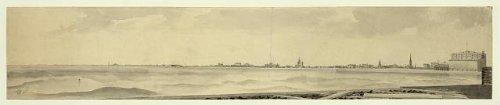 Photo: Lake Front,Michigan Avenue,Chicago,Illinois,IL,c1892,Skyline,Lake - Michigan Avenue Chicago Map