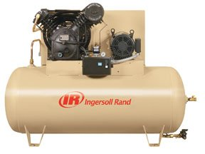 - Ingersoll Rand Type-30 Reciprocating Air Compressor (Dual Stage, Fully Packaged) - 10 HP, 230 Volt, 3 Phase, Model# - Model Type Vp