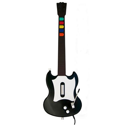 (Guitar Hero SG Controller - Black - PlayStation 2)