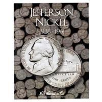 Jefferson Nickel Folder 1938-1961 From TheCraftyCrocodile