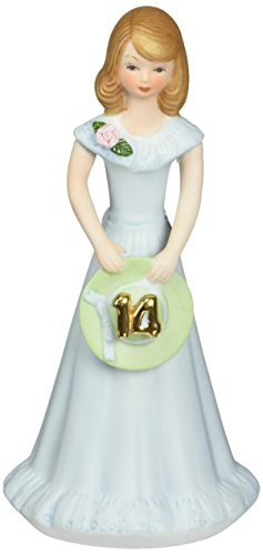 Enesco Growing up Girls from Brunette Age 14 Figurine 6.5 ()