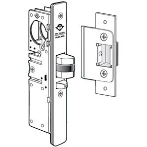 Adams Rite 4510-35-102-628 Standard Duty Deadlatch Flat For Aluminum Stile Doors (1-1/8