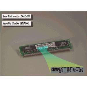 Compaq Genuine 8MB 60ns EDO Memory Module Prosignia 200 Deskpro 2000 4000 6000 Presario 3000 4000 4100 4400 6700 7200 7600 8700 - Refurbished - 236513-001