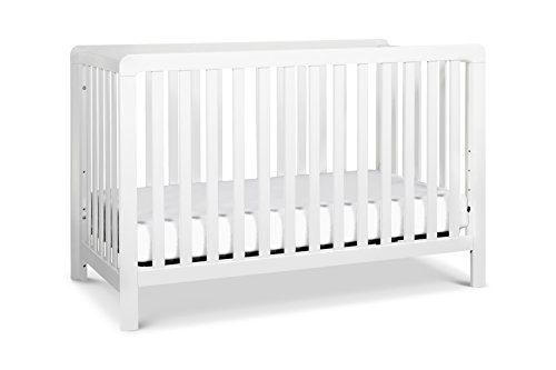 Carter's by DaVinci Colby 4-in-1 Low-profile Convertible Crib, White by Carter's by DaVinci