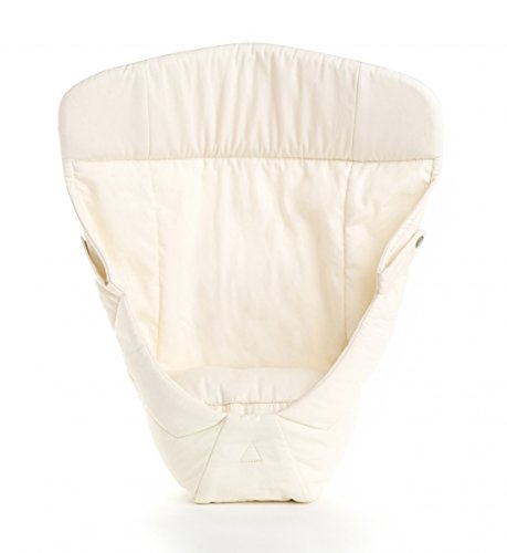 ERGObaby Easy Snug Infant Insert Organic Cotton, Natural IIGNTLV3